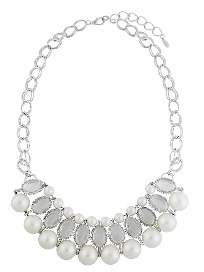 Chunky Faux Pearl Necklace