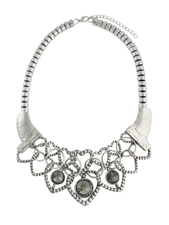 Multi Heart Pendant Short Necklace