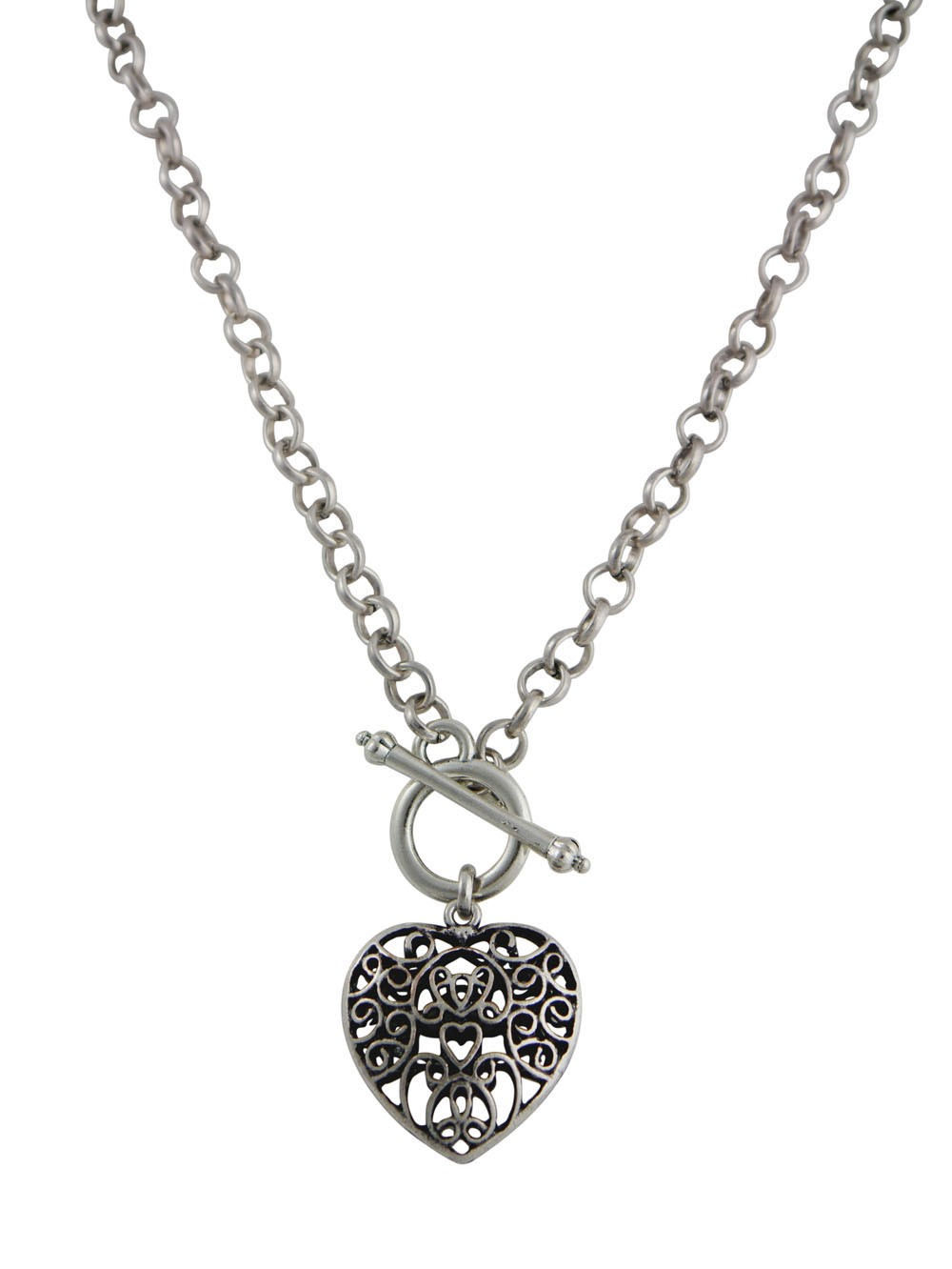 Vintage Style Heart Pendant Necklace