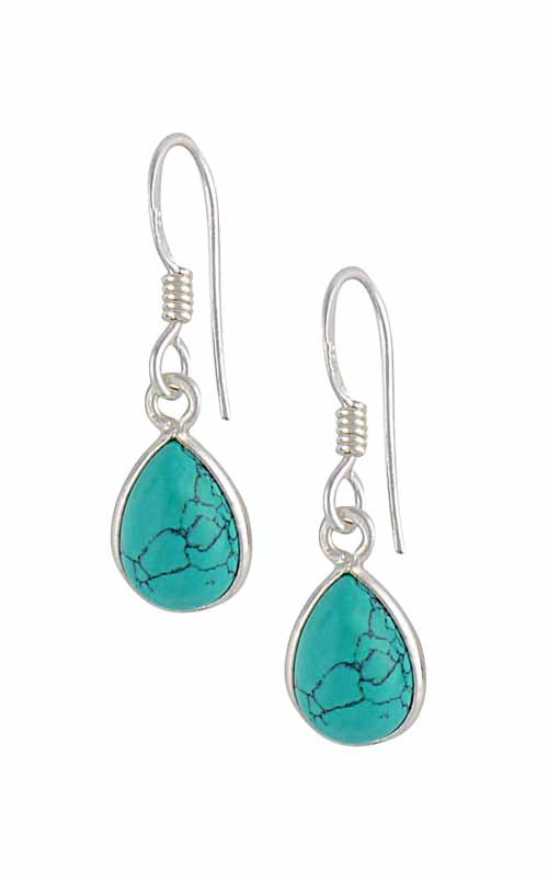 Sterling Silver Turquoise Earrings