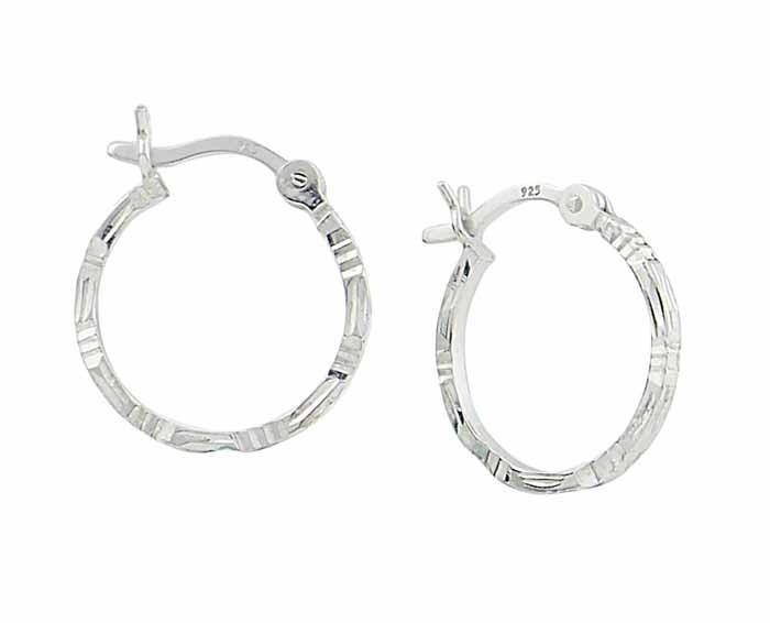 Small Hoop Earrings - 15mm