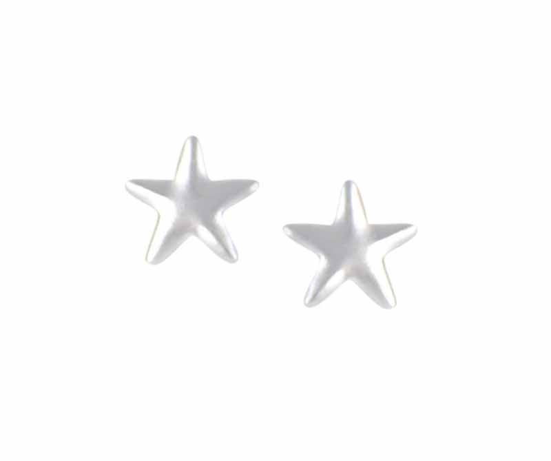 Small Star 4mm Stud Earrings