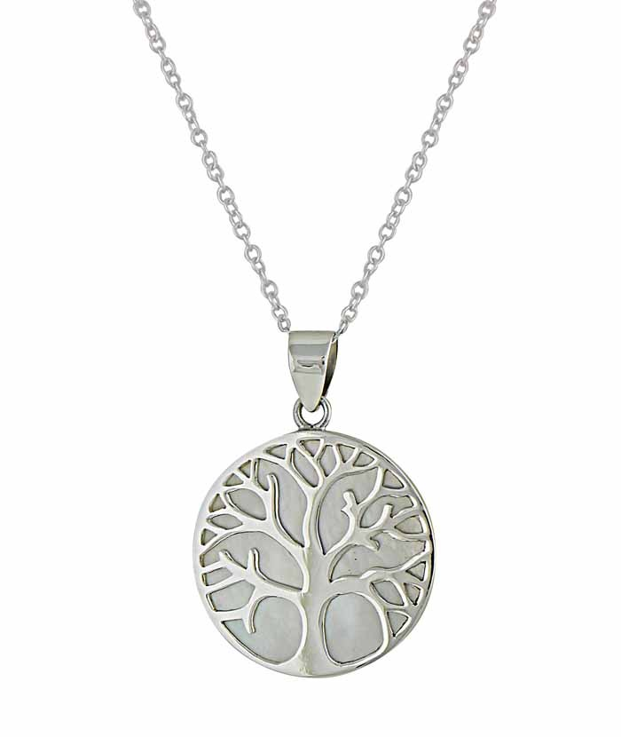 Silver Tree of Life Pendant | The Opal
