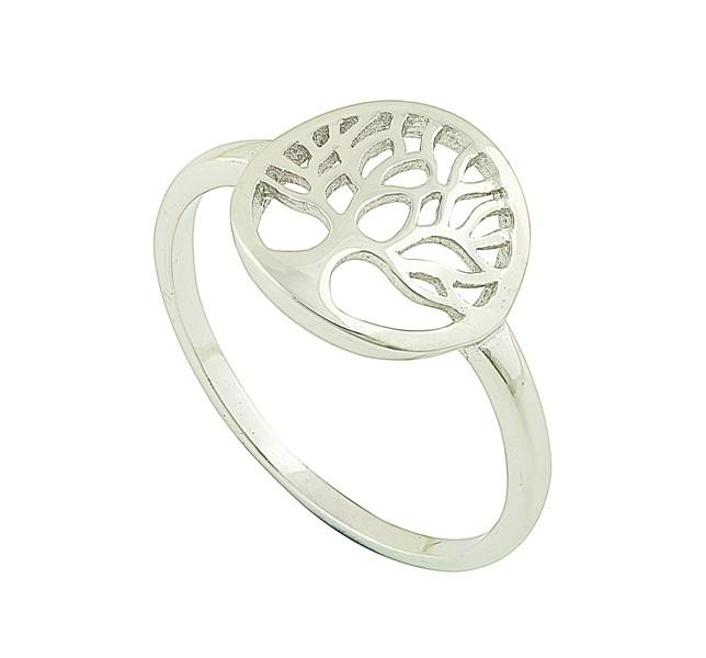Spiritual Symbol Silver Ring