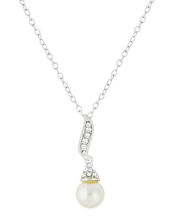 Pearl Pendant Short Necklace