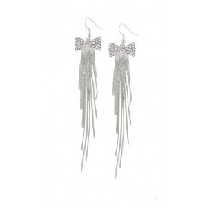 Bow and Tassel Earrings