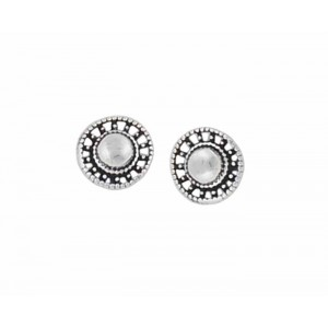 Small Silver Stud Earrings - 6mm
