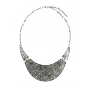 Crescent Design Pendant Necklace