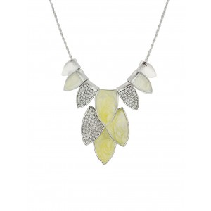 Multiple Leaf Charms Necklace