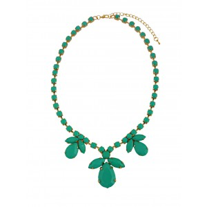 Flower Bead Short Fashion Necklace