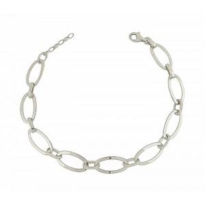 Link Chain Silver Bracelet