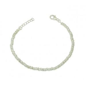 Ring Link Silver Bracelet
