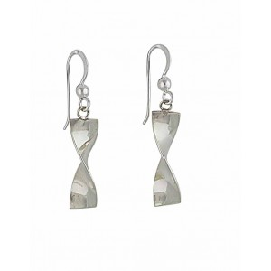 Twisted Infinity Drop Earrings
