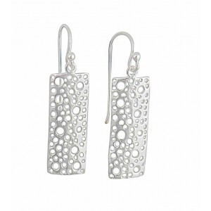 Rectangular Design Drop Earrings
