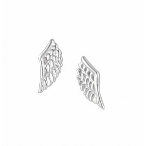 Angel Wing Small Stud Earrings