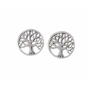 Silver Tree of Life Earrings