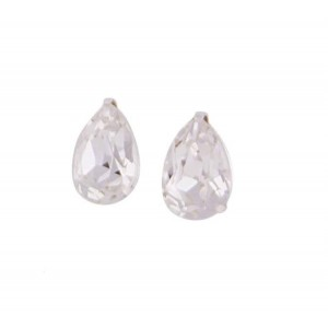 Teardrop Swarovski Crystal Small Stud Earrings