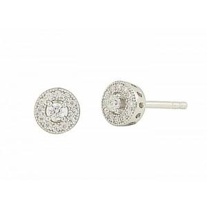 Vintage Cluster Stud Earrings