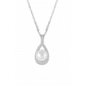 Teardrop Freshwater Pearl Pendant