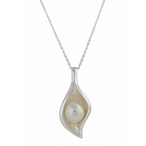 Freshwater Pearl Silver Pendant