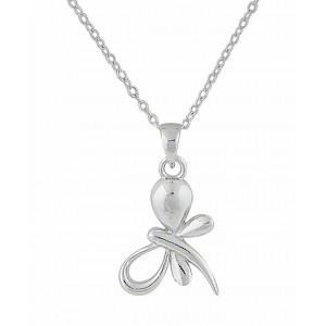 Twist Butterfly silver Pendant