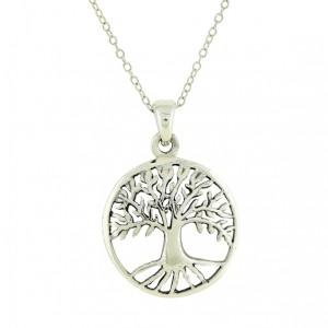 Cosmic Tree Silver Pendant