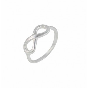 Sterling Infinity Silver Ring