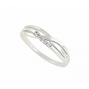 Intertwining Silver Ring