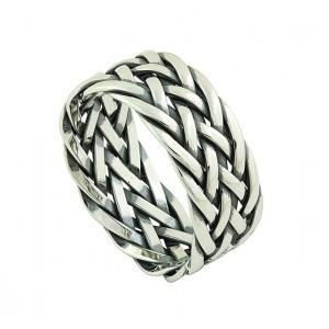 Celtic Plait Silver Ring