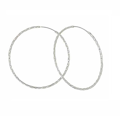 Whatever the Size, Hooped Earrings Are Always a Winner