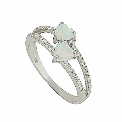 Say 'I Love You' with Silver Ring
