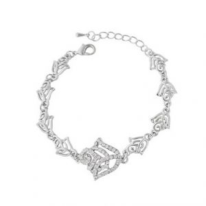 Flower Charm Bracelet