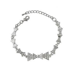 Bow Charm Bracelet