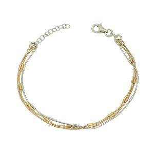 Metallic Trio Bracelet