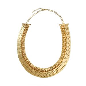 Golden  Fashion Necklace