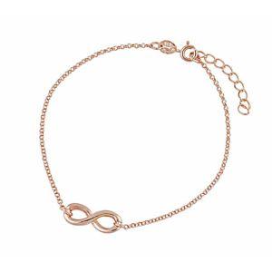 Rose Gold Plated Infinity Bracelet