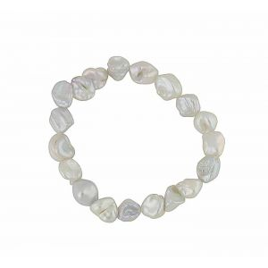 Freshwater Pearl Sequential Stretch Bracelet