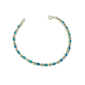 Blue Opal Beauteous Bracelet
