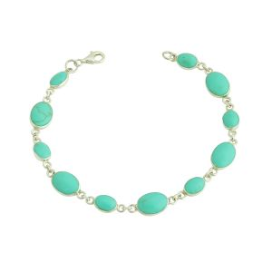 Turquoise Ascension Silver Bracelet