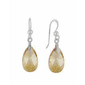 Golden Shadow Swarovski Crystal Earrings | The Opal Jewellery
