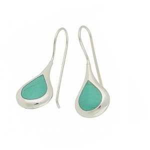 Turquoise Ascension Silver Drop Earrings