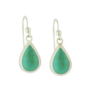 Turquoise Shaped Drop Earrings