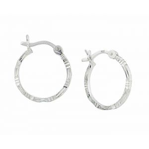 Small Hoop Earrings - 15mm