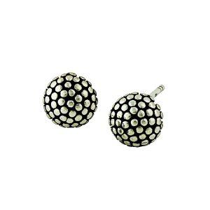 Spherical Studs Silver Earrings