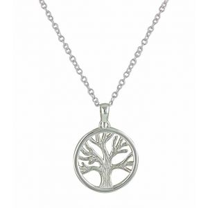 Tree of Life Sterling Silver Pendant