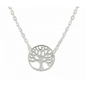 Tree of Life Small Silver Pendant