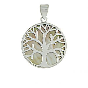 Steling Silver Tree of Life Pendant