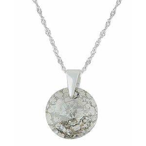Silver Panita Swarovski Crystal Pendant Necklace