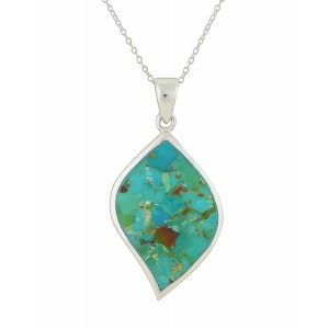 Turquoise Vision Silver Pendant