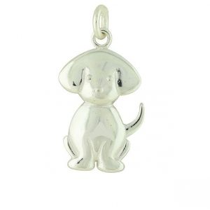 Dog Lover Silver Pendant
